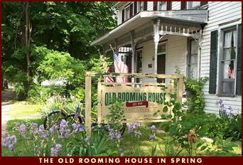 The Old Rooming House in Spring