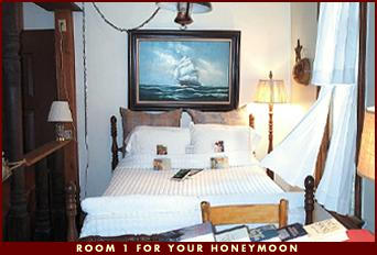 Room 1 for your honeymoon